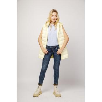 Vêtements Femme Jeans slim Toxik3 Jean revers gold - Five Bleu jean