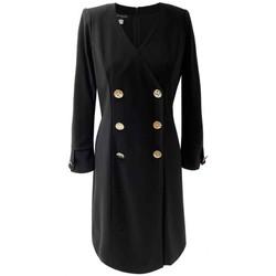 Vêtements Femme Robes Georgedé Robe Masha en Jersey Noire Noir