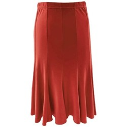 Vêtements Femme Jupes Georgedé Jupe Tess en Jersey Rouge Rouge