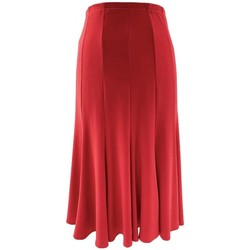 Vêtements Femme Jupes Georgedé Jupe Maya en Jersey Rouge Rouge
