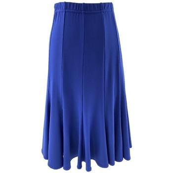 Vêtements Femme Jupes Georgedé Jupe Tess en Jersey Bleu Royal Bleu
