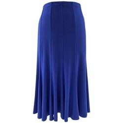 Vêtements Femme Jupes Georgedé Jupe Maya en Jersey Bleu Royal Bleu
