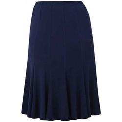 Vêtements Femme Jupes Georgedé Jupe Tess en Jersey Bleu Marine Bleu