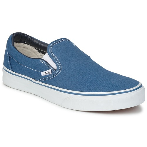 chaussures vans slip on bleue