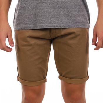 Vêtements Homme Shorts / Bermudas La Maison Blaggio MB-VAREN Marron