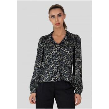 Vêtements Femme Chemises / Chemisiers Kebello Chemise imprimé Taille : F Noir S Noir