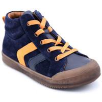 Chaussures Garçon Boots Bellamy bo Bleu