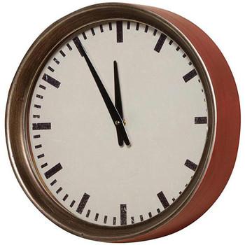 Maison & Déco Horloges Chehoma Horloge bordeaux Hornu 34cm Bordeaux