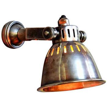 Maison & Déco Appliques Chehoma Applique industrielle nickel Resto 11x18x13cm Gris