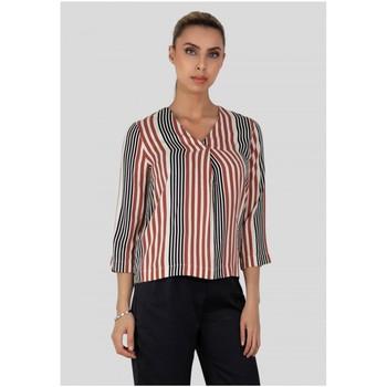 Vêtements Femme Chemises / Chemisiers Kebello Chemise imprimé Taille : F Blanc XS Blanc