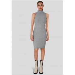 Vêtements Femme Robes courtes Kebello Robe longue Taille : F Gris XS Gris