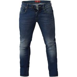 Vêtements Homme Jeans slim Duke  Bleu foncé délavé