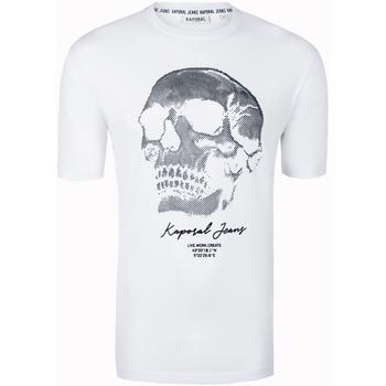 Vêtements Homme T-shirts manches courtes Kaporal - tee-shirt Blanc