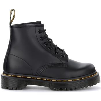 Chaussures Femme Bottines Dr Martens Boots 101 Bex Smooth en cuir noir Noir