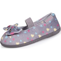 Chaussures Fille Chaussons Isotoner Chaussons ballerines multicolores Multicolor