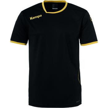 Vêtements Enfant T-shirts manches courtes Kempa Maillot enfant  Curve noir/or