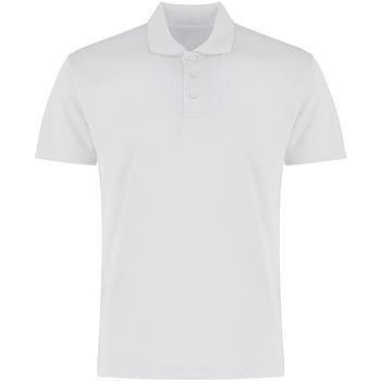 Vêtements Homme Polos manches courtes Kustom Kit KK455 Blanc