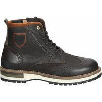 Chaussures Homme Boots Pantofola d'Oro Bottines Dunkelbraun