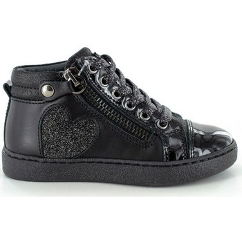 Chaussures Fille Baskets montantes Stones and Bones Erica Calf -Metal Navy