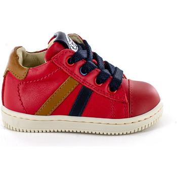 Chaussures Garçon Baskets montantes Stones and Bones Ber Red-Cuelo