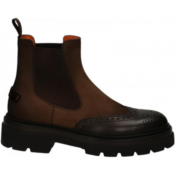 Chaussures Homme Boots Santoni BLACKAGE dark-brown