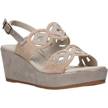 Chaussures Femme Sandales et Nu-pieds Valleverde 32214 Beige