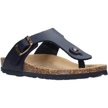 Chaussures Enfant Tongs Bionatura 22B 1010 Bleu
