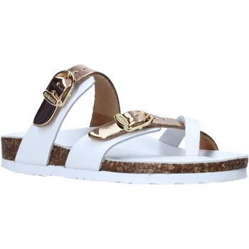 Chaussures Enfant Tongs Bionatura 22B 1020 Blanc