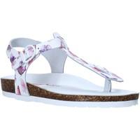 Chaussures Enfant Tongs Bionatura 22B 1007 Blanc