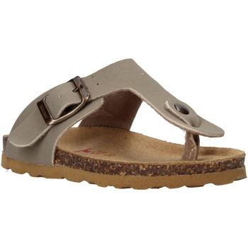Chaussures Enfant Tongs Bionatura 22B 1010 Gris
