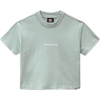 Vêtements Femme T-shirts manches courtes Dickies DK0A4XBAB871 Vert