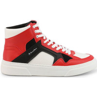 Chaussures Homme Baskets montantes Duca Di Morrone - nick Rouge