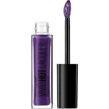 Beauté Femme Gloss Gemey Maybelline Maybelline - Color Sensational Gloss Vivid Hot Lacquer 7... Violet