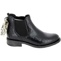 Chaussures Femme Boots Goodstep Boots Rio Noir Noir