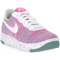 Chaussures Femme Baskets basses Nike 500 AIR FORCE 1 CRATER FLYKNIT Rosa