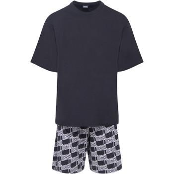 Vêtements Homme Pyjamas / Chemises de nuit Diesel - pyjama court Noir
