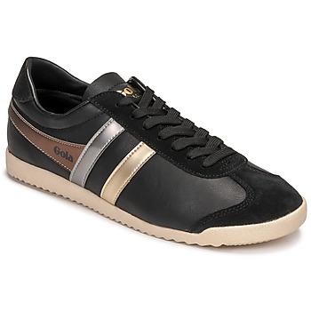 Chaussures Femme Baskets basses Gola BULLET TRIDENT Noir / Doré