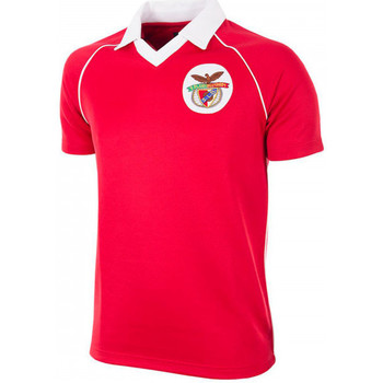 Vêtements Homme Polos manches courtes Copa SL Benfica 1983 - 84 Retro Football Red