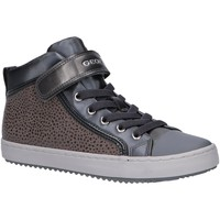 Chaussures Fille Baskets montantes Geox J744GI 0DHAJ J KALISPERA Gris