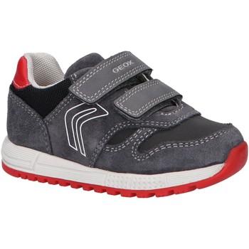 Chaussures Garçon Multisport Geox B163CD 022ME B ALBEN Gris