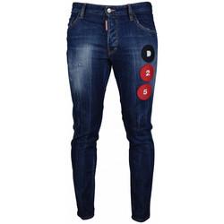 Vêtements Enfant Jeans slim Dsquared Skater Jean Bleu