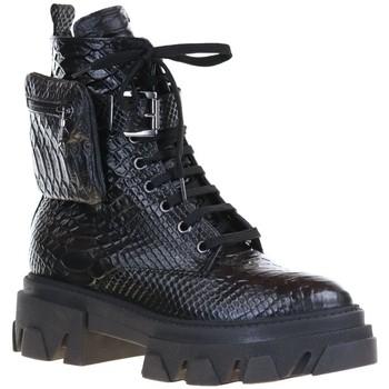 Chaussures Femme Bottines Impicci TA31 Noir