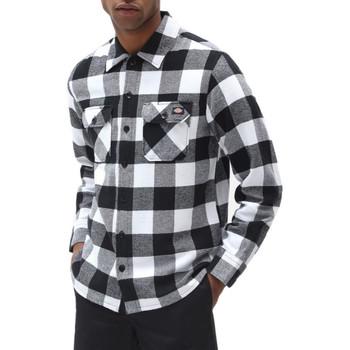 Vêtements Homme Chemises manches longues Dickies Chemise $SKU Noir