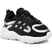 Chaussures Enfant Baskets basses adidas Originals Haiwee EL I Blanc, Noir