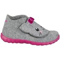Chaussures Enfant Chaussons Superfit Happy Gris