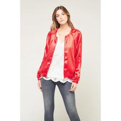 Vêtements Femme Blousons Le Temps des Cerises Blouson bonny rouge FLAME