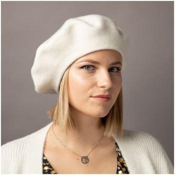 Accessoires textile Femme Bonnets Primtex Béret  en laine taille unique accessoire de mode tendance Blanc