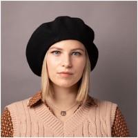 Accessoires textile Femme Bonnets Primtex Béret  en laine taille unique accessoire de mode tendance Noir