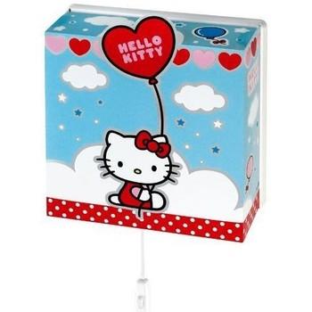 Maison & Déco Enfant Appliques Hello Kitty Applique Pvc carrée Bleu