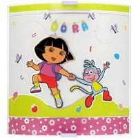 Maison & Déco Enfant Appliques Dessins Animés Grande applique murale en verre Multicolore
